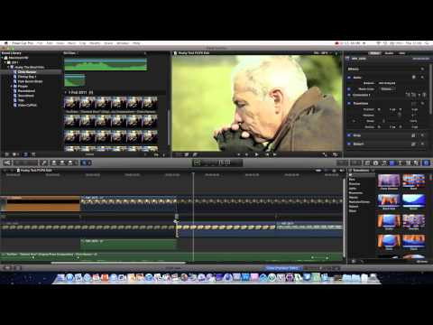 how to use final cut pro x for beginners