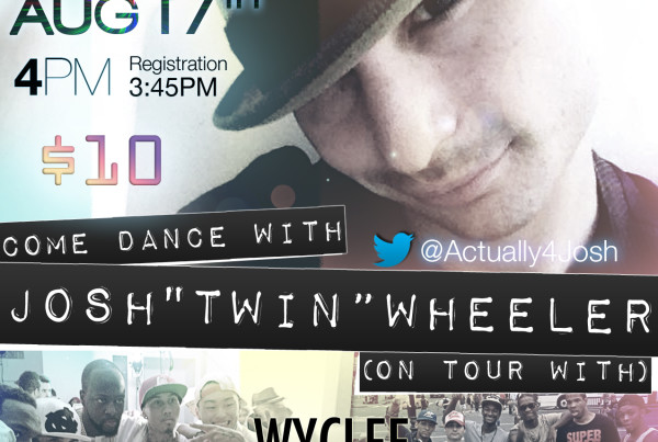 Flyer Go All The Way Dance Workshop