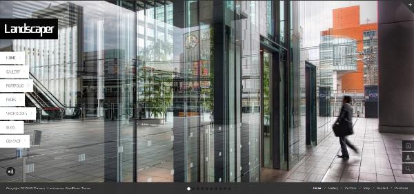 Landscaper – Fullscreen Business WordPress Theme