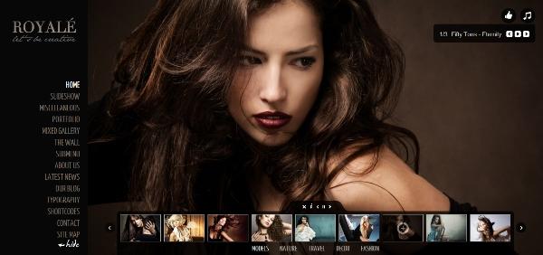 Royale' Creative WordPress Theme