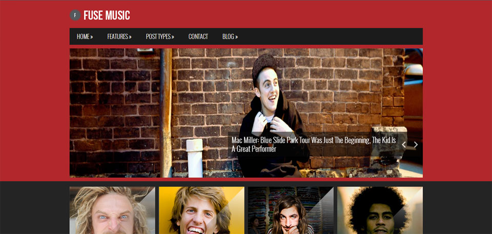 Fuse Music – Premium Music WordPress Theme