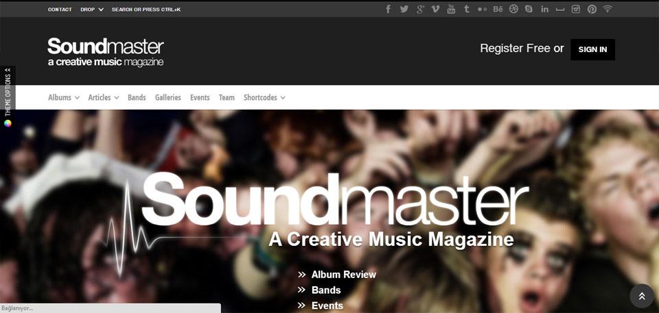 SoundMaster - Premium Responsive WP Music Magazine