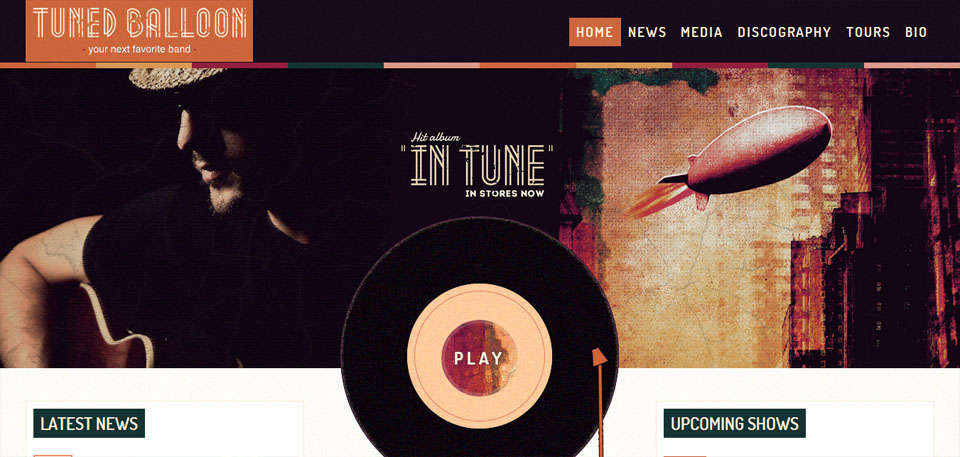 50 Best WordPress Themes for Musicians, Singers, & Bands