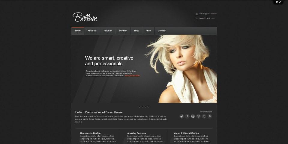 Bellum WordPress Theme