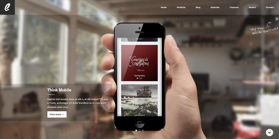 Ergo - Simple, Ergonomic and Clean WordPress Theme