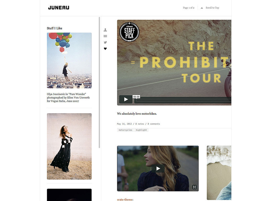 40 Photography Tumblr Themes (Mobile-Ready)