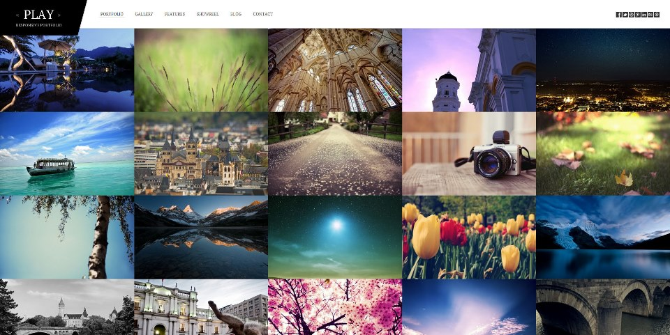 Play - Responsive Portfolio for WordPress