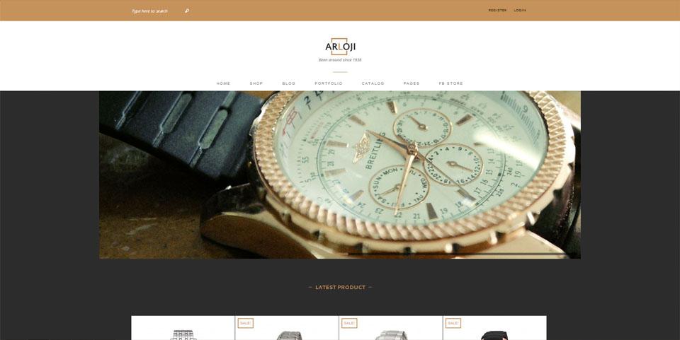 ARLOJI – Responsive Multi-Purpose Ecommerce Theme