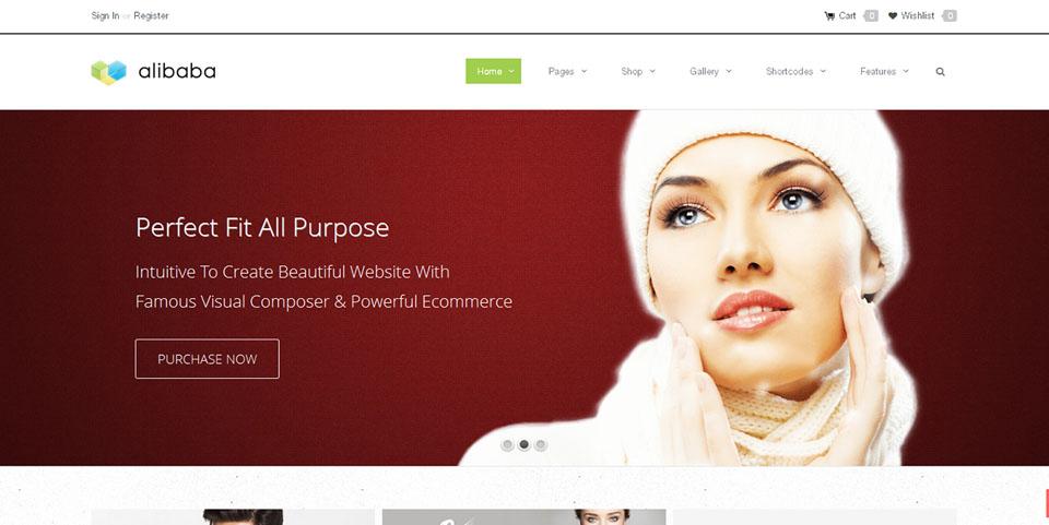 Alibaba Multi Purpose Responsive E-Commerce Theme