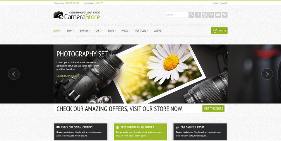 Camy - WordPress Shop