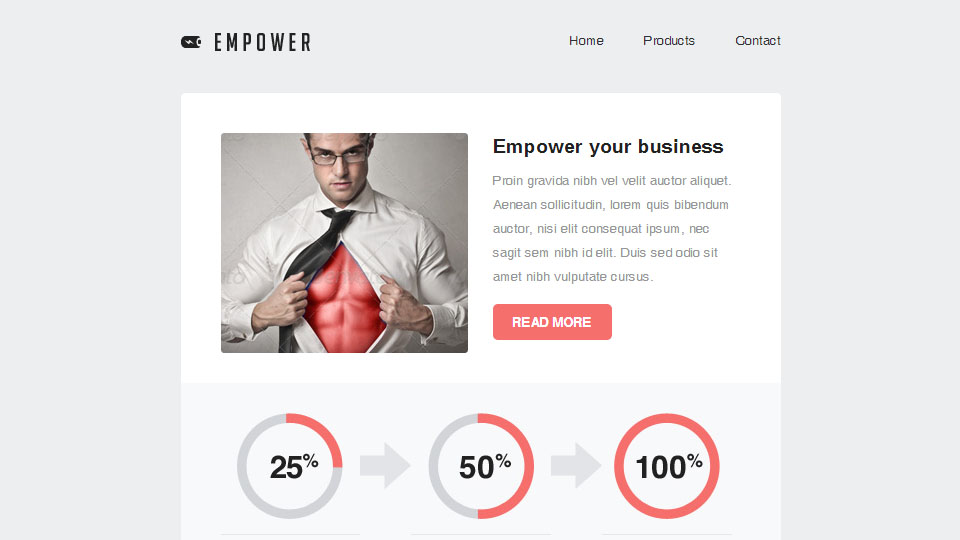 Empower - Responsive Email With Template Builder