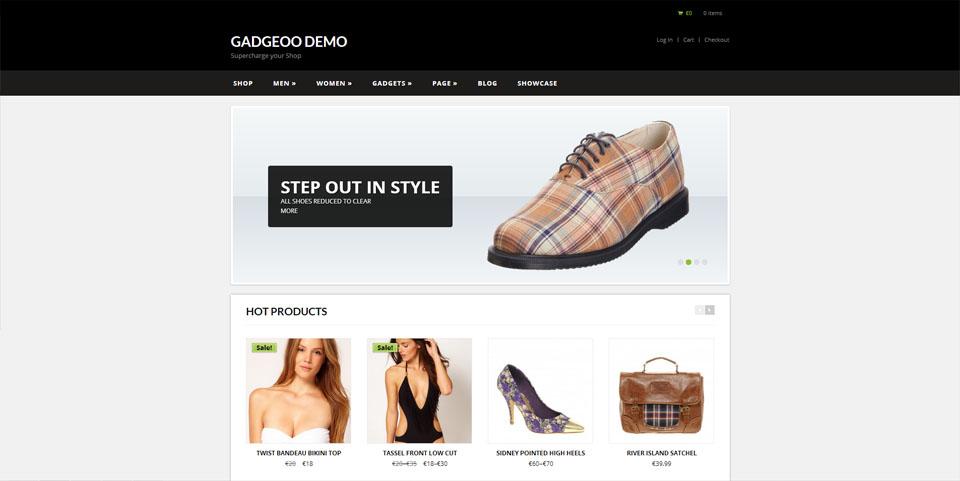 Gadgeoo – An ultra Responsive WooCommerce Theme