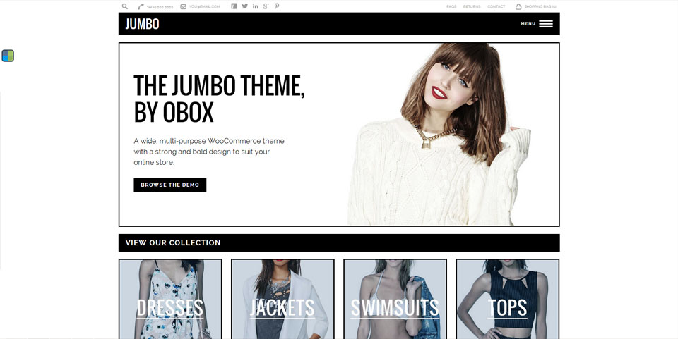 Jumbo - Multi-Purpose WooCommerce Theme