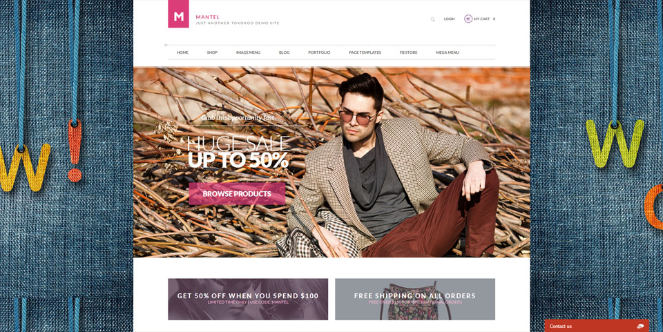 Mantel – Multi-Purpose Responsive Woocommerce Theme