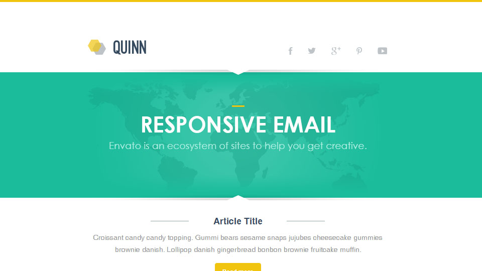 Quinn - Responsive Email Template