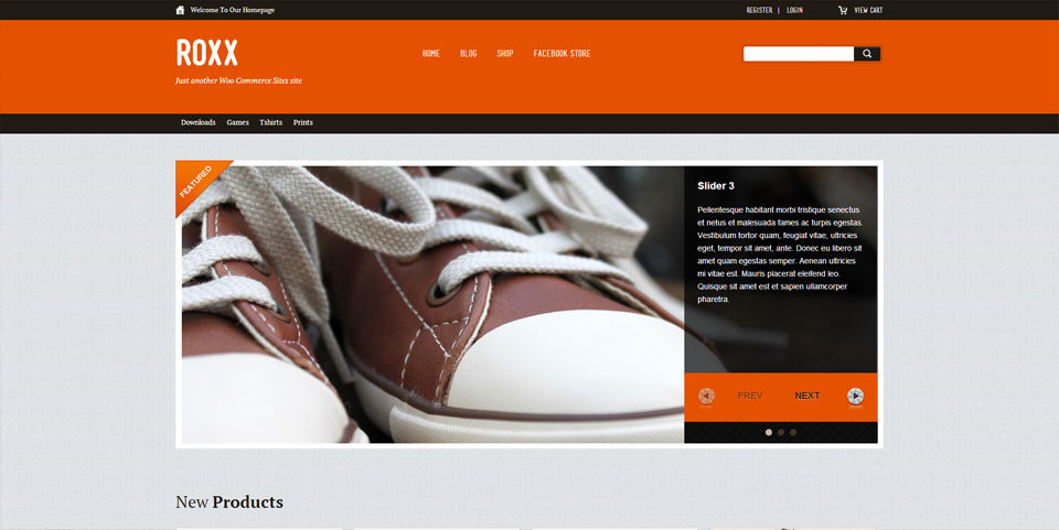 Roxx WooCommerce Themes