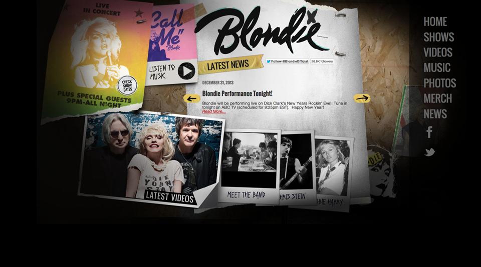 blondie-wordpress-homepage