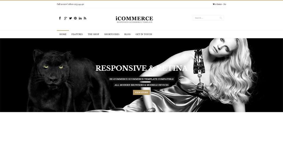 iCommerce - Multi-Purpose WooCommerce Theme