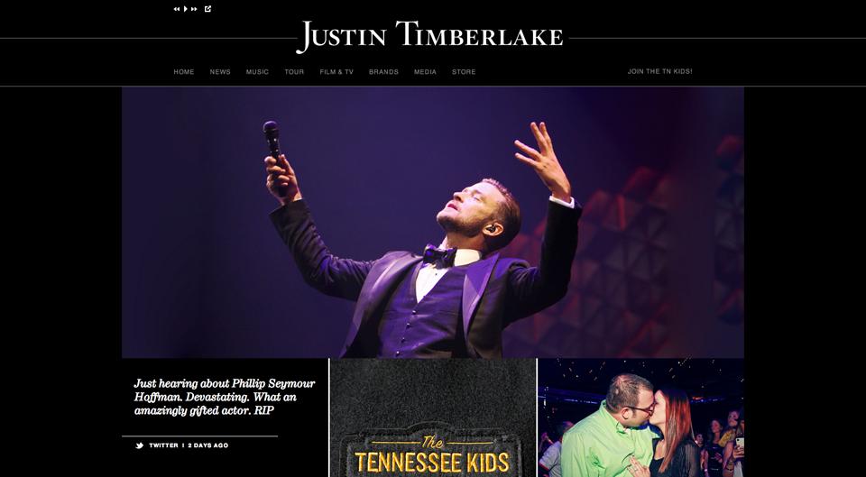justintimberlake-wordpress-homepage
