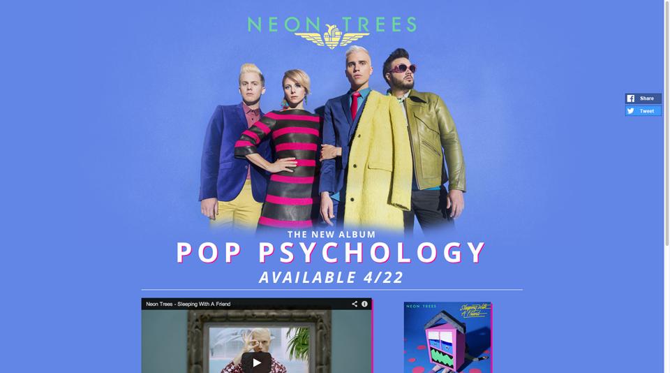 neontrees-wordpress-homepage