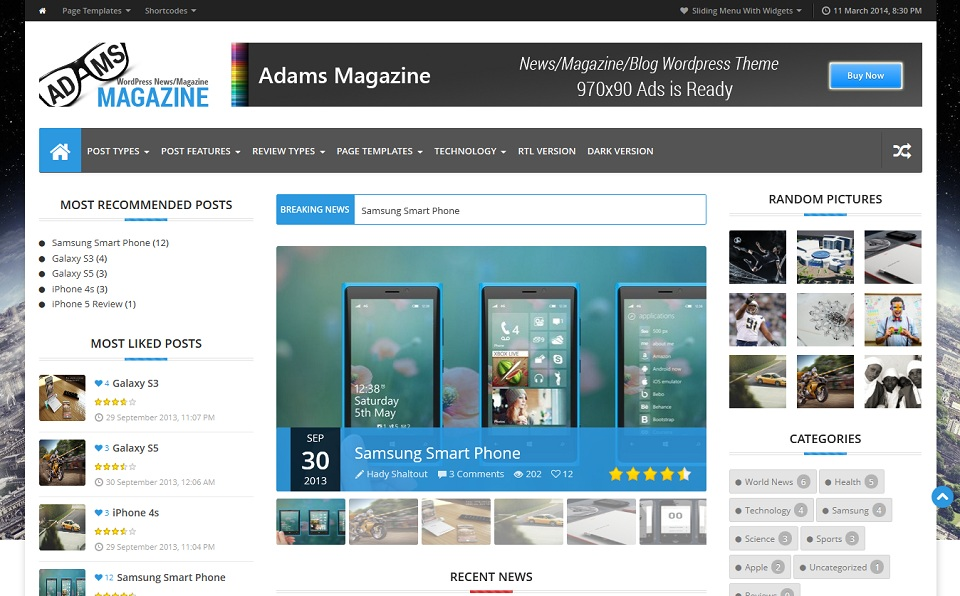 Adams Magazine - Science & Technology_Responsive_WordPress_Magazine_Theme