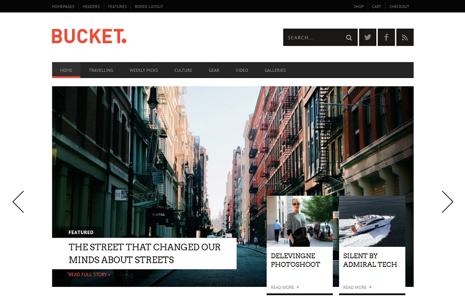 BUCKET - A Digital Magazine Style _Full_Responsive_WordPress_Magazine_Theme