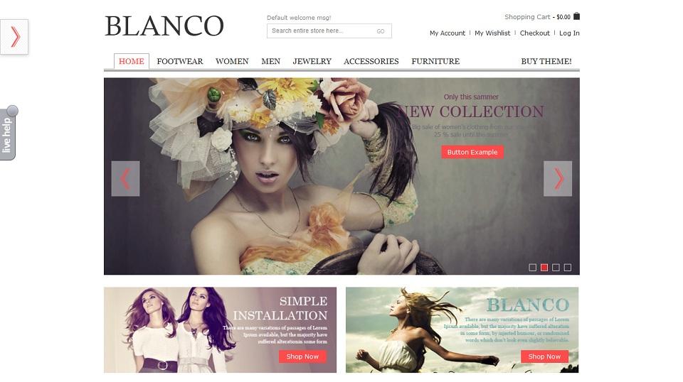 Blanco Magento Theme - 8theme studio