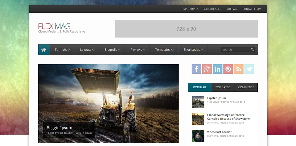 FlexiMag _WordPress_Magazine_Theme
