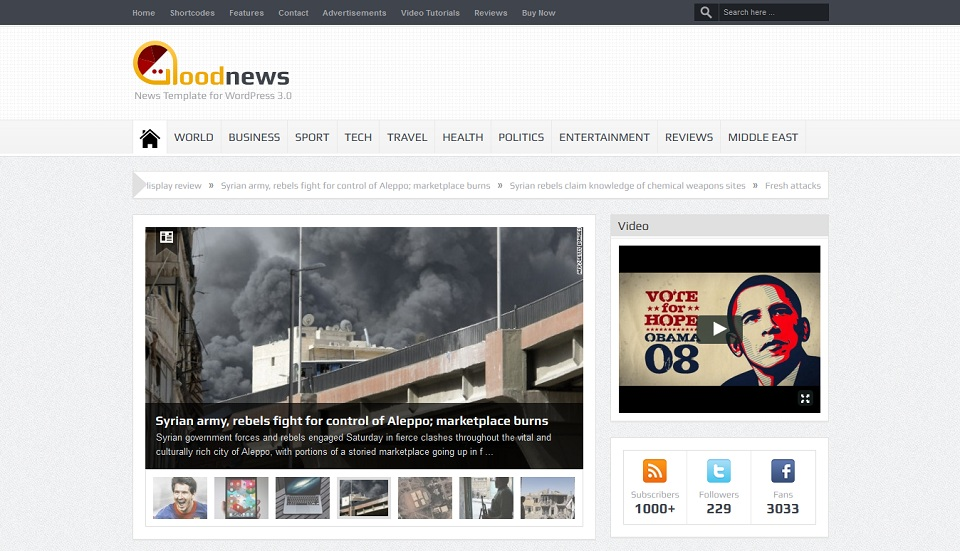 Goodnews – Premium WordPress News-Magazine