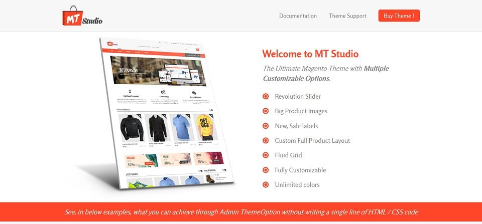 MT Studio - Fluid Responsive Magento Theme