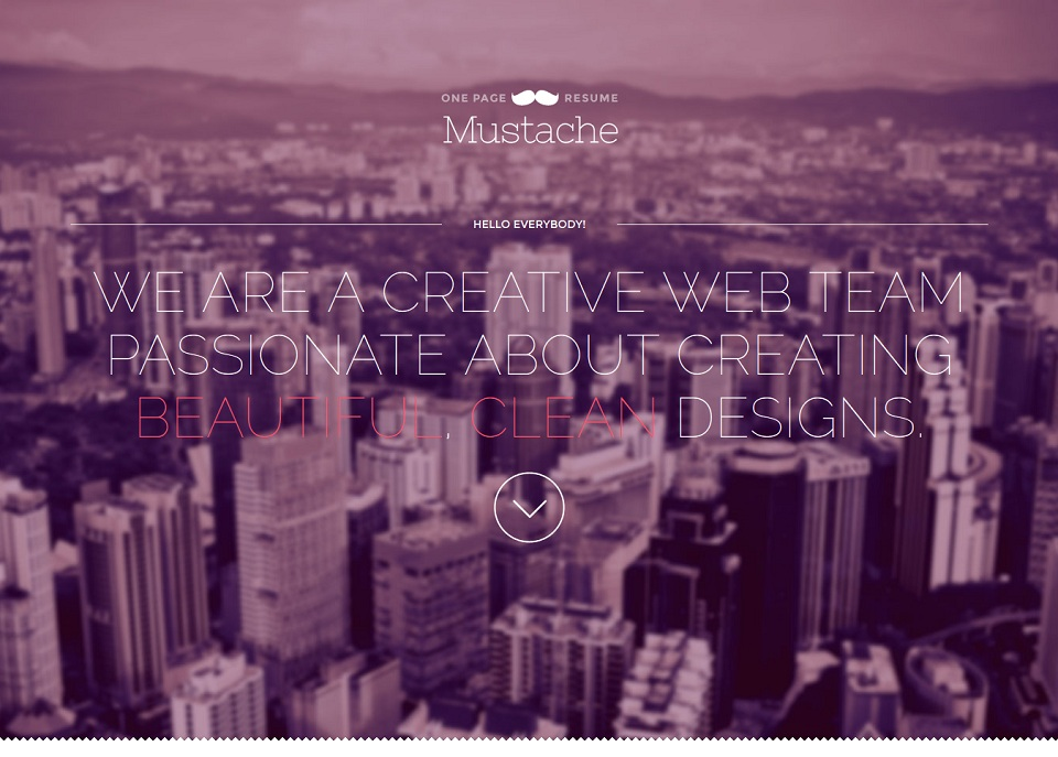 Mustache_WordPress_Theme