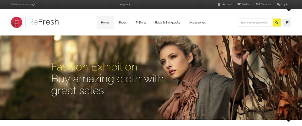 Refresh - Responsive & Retina Ready Magento theme