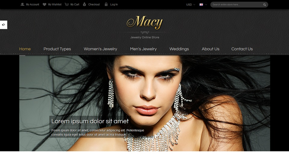 SM Macy - Responsive Magento Theme