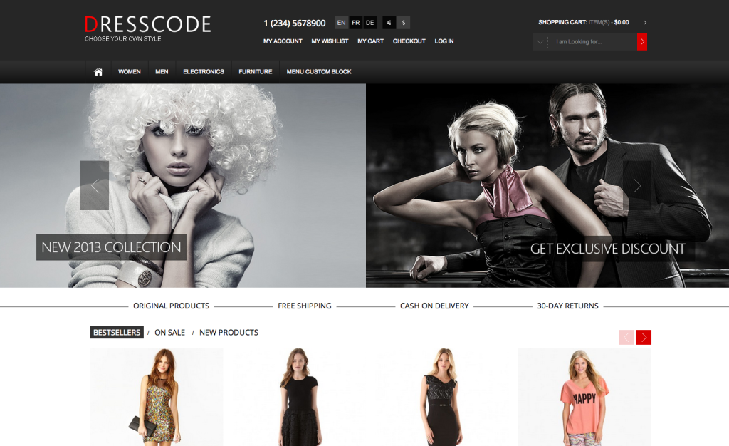 dresscode-magento-ecommerce-shoppingcart-theme