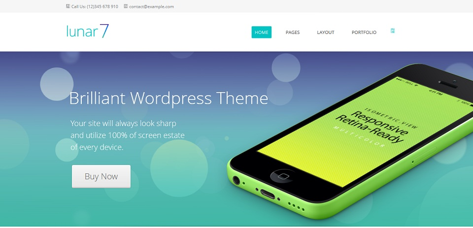 lunar7_WordPress_Theme