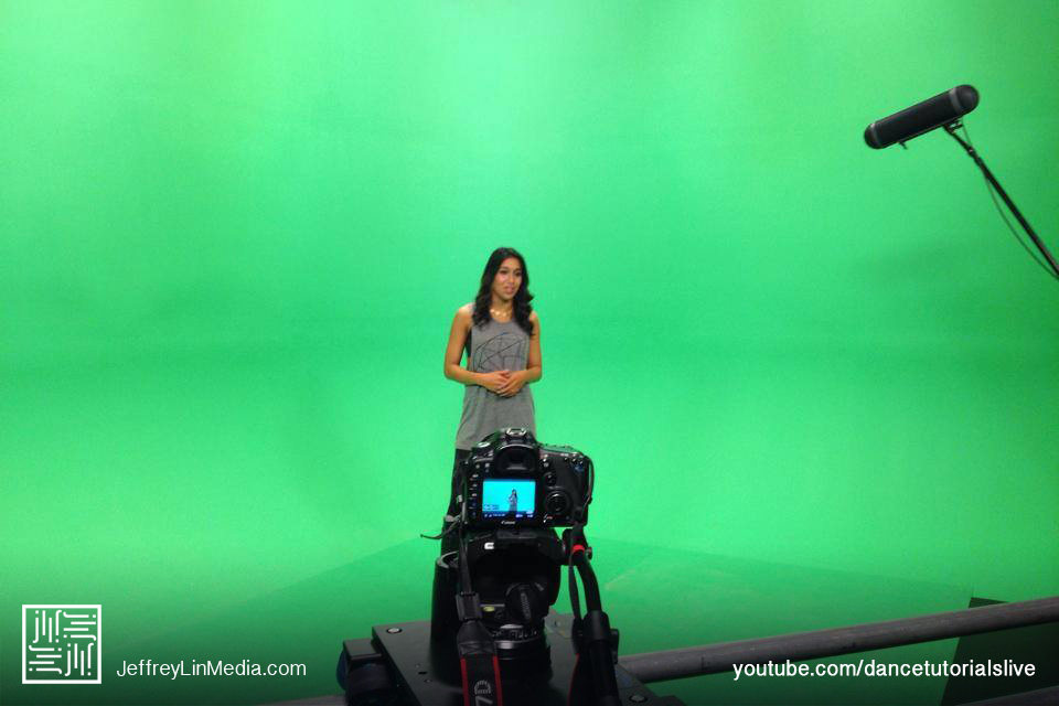 Dana Alexa Behind the Scenes Dance Tutorials LIVE Green Screen