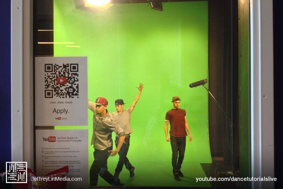 CJ Salvador Matt Steffanina Jake Kodish Behind the Scenes Dance Tutorials LIVE Green Screen