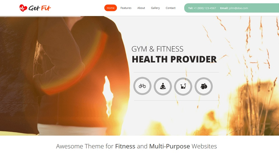 Get Fit - Just another The Web Design Factory Sites site