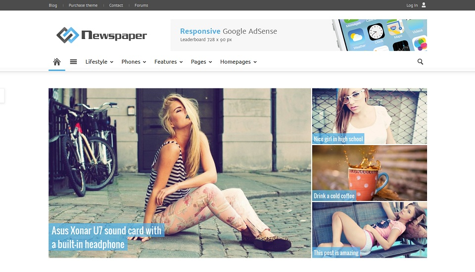 Newspaper . Just another WordPress site