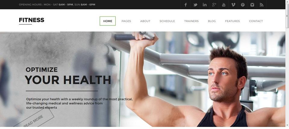 Skat Design - Theme- Fitness