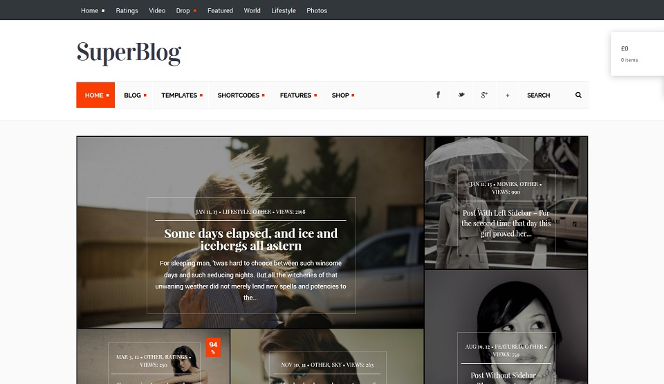 SuperBlog - Just another WordPress site