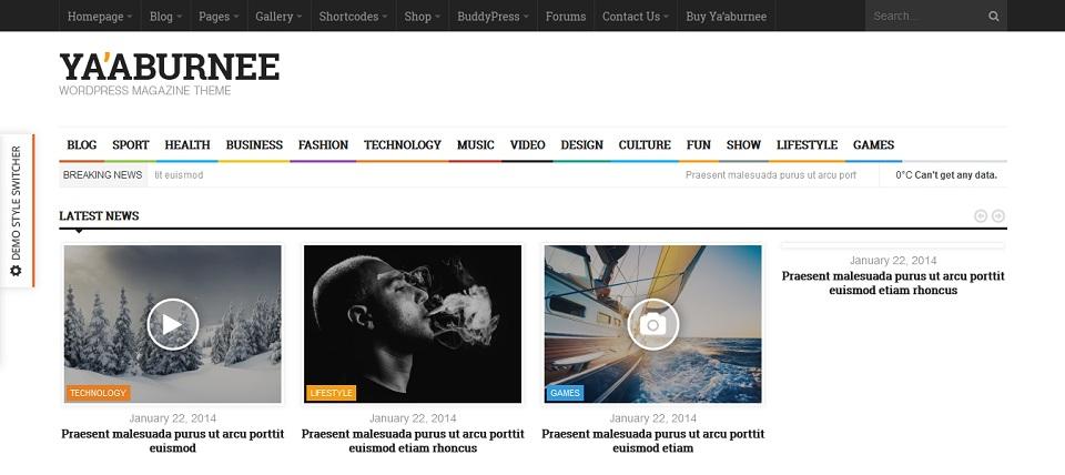 Ya'aburnee - Premium Magazine Theme