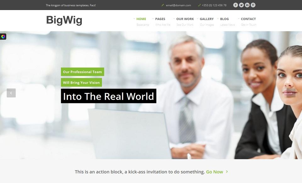 Bigwig  - WordPress theme