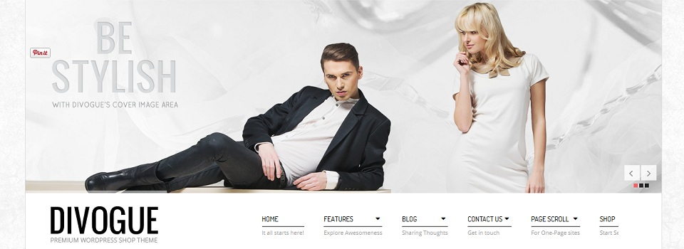 Divogue - Premium WordPress Shop Theme