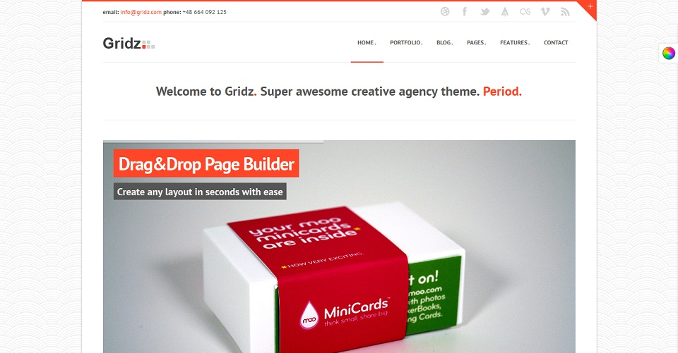Gridz - WordPress theme