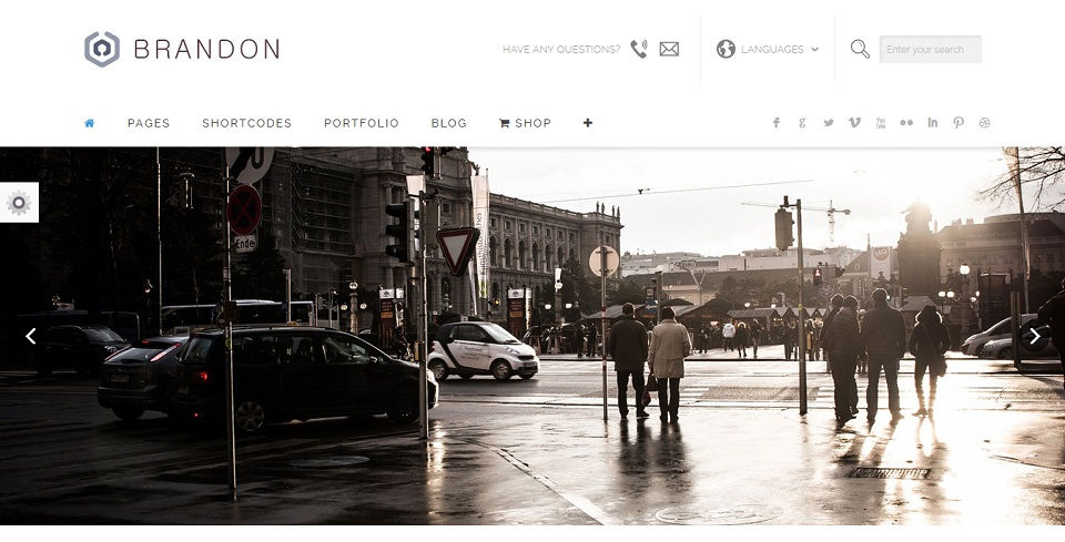 Home – Corporate - Brandon - WordPress theme