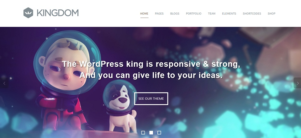 Kingdom  - WordPress theme
