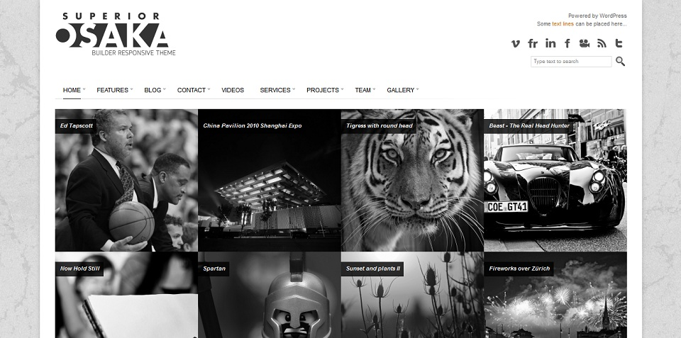 Osaka  - WordPress theme