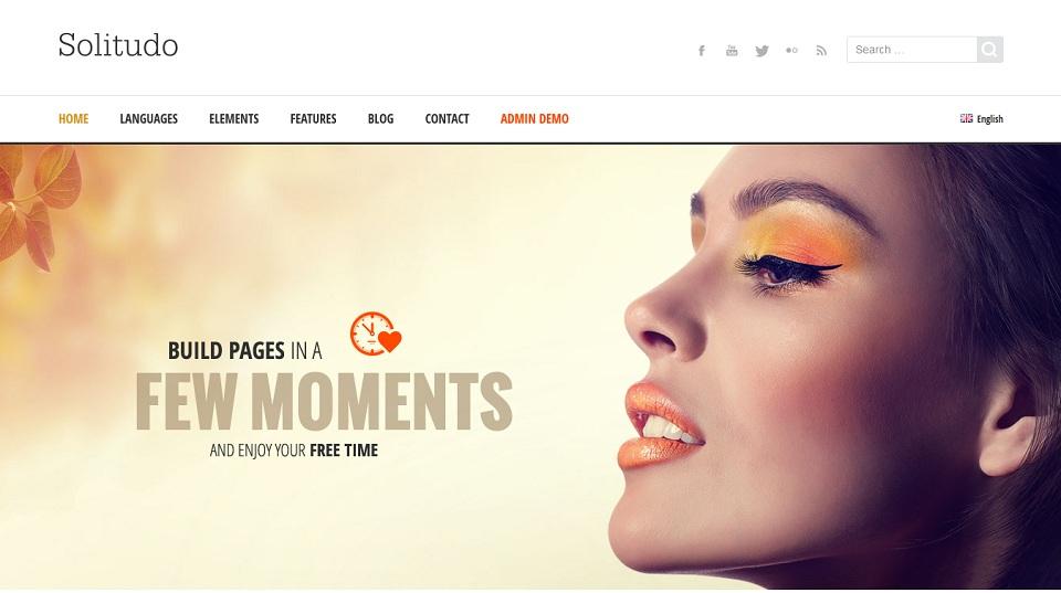 Solitudo WordPress Theme