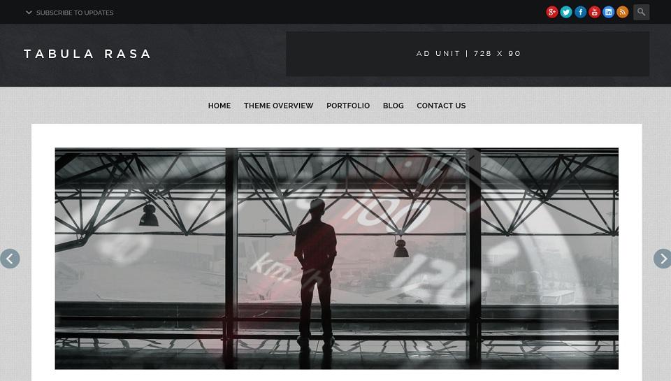 Tabula Rasa - Premium Grade WordPress